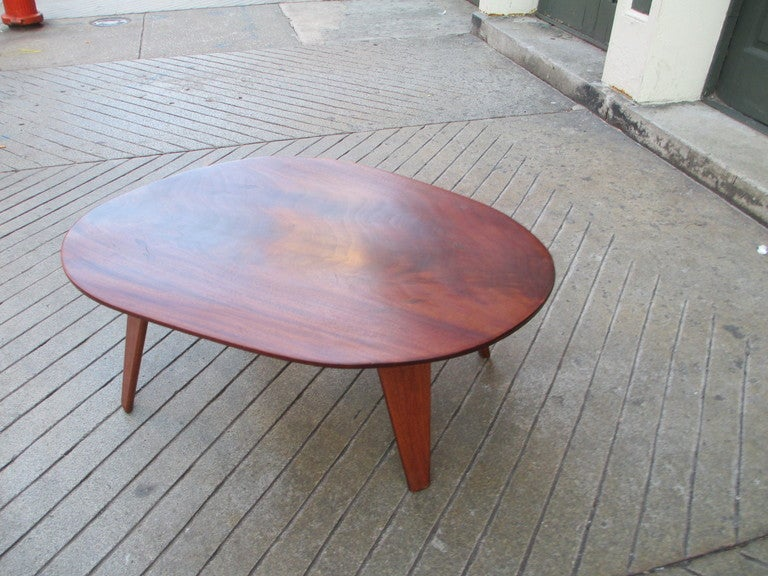 Furniture hudson furniture coffee tables petrified wood coffee - Devon Dennet Solid Cuban Mahogony Coffee Table Dated 1947